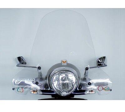 Bello Isotta Parabrezza Paravento Classic Piaggio Beverly 500 Cod.cls362 Fabbricazione Abile