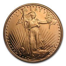 1/2 oz Copper Round - Saint-Gaudens (20 count tube) - SKU #87417