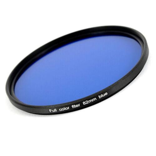 Aspecto visual-filtro azul//Blue 82 mm