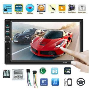 7inch-Double-2DIN-BT-Car-Radio-Stereo-FM-USB-AUX-MP5-Player-In-dash-Head-Unit