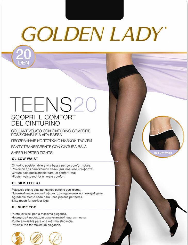 5 Strumpfhose Frau Golden Lady Lycra Mit Mieder Niedrige Taille Einstellbar Art.