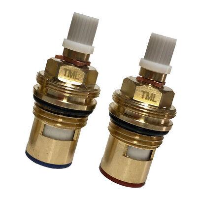 Franke TRIFLOW filter Tap Cartridge ceramic Valves compatible Perrin /& Rowe