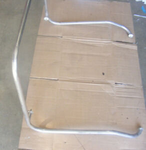 Stainless-Steel-Boat-Center-Console-Grab-Rail-Top-Mount-Metallic-Bar-34-034-x-28-034