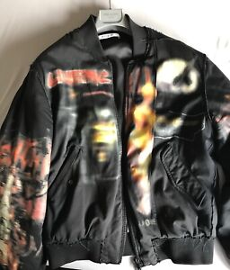 Details zu Givenchy Paris Destroyed Bomber Full Metal Gr L Distressed High Yeezy Off White