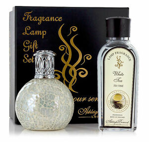The-Pearl-amp-White-Tea-Geschenkset-Aromalampe-amp-Weisser-Tee