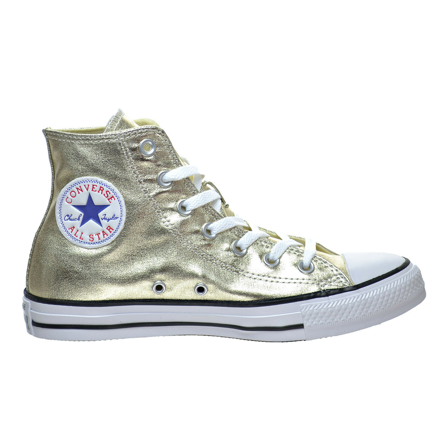 New Mens 11 Converse CTAS HI Light Metallic gold Canvas 153178F  65