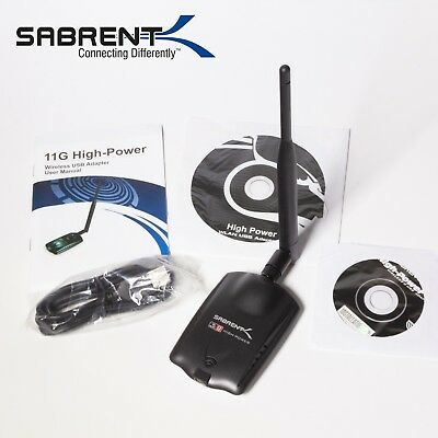 SABRENT HIGH POWER WIRELESS-G USB ADAPTER WINDOWS 8 DRIVERS DOWNLOAD