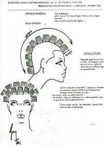 Publicite Ancienne Dessin Femme Coiffure Mode Ete 1978 No 43 Ebay
