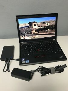 Lenovo-Thinkpad-X230-i5-2-8GHz-8GB-RAM-NEW-256GB-SSD-WebCam-1yr-Antivir