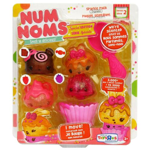 NUM PLUMES SERIE 2 SPECIAL EDITION Cupcake Sparkle Pack