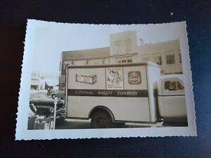 NABISCO National Biscuit Company Delivery Truck Photo - Arthur Murray Dance Stud