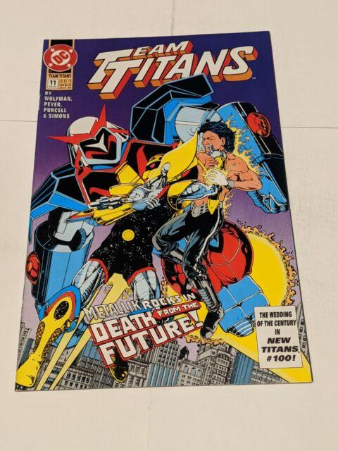 Team Titans #11 August 1993 DC Comics