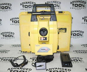 Details about Leica iCON robot 50 Robotic Total Station iCR55 with Case,  Battery & Charger