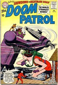 Doom Patrol 93 1965 Vf Dc Comics Robot Cover Brotherhood Of Evil