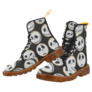 The Nightmare Before Christmas Cool Lace Up Boots For Women