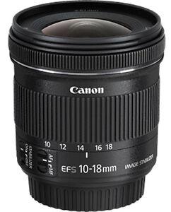 Canon 10-18mm STM f/4.5-5.6 Lens