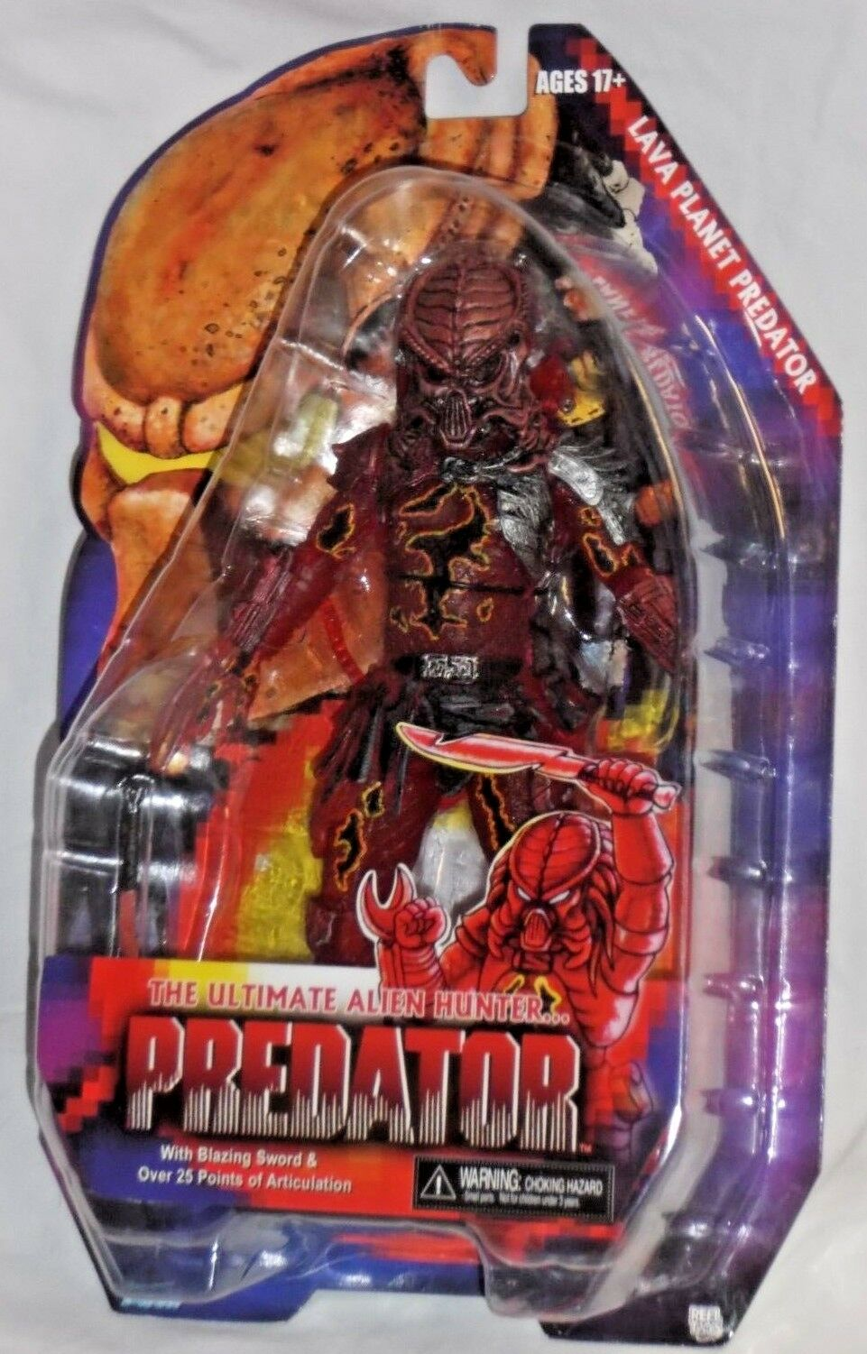 NECA ALIEN HUNTER ProssoATOR Series 10 LAVA PLANET horror movie 7  action figure