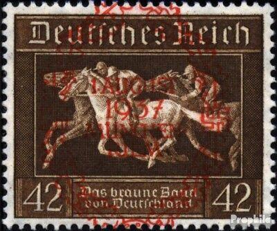 Sparsam Deutsches Reich 649 (kompl.ausg.) Gestempelt 1937 Braunes Band Moderate Kosten