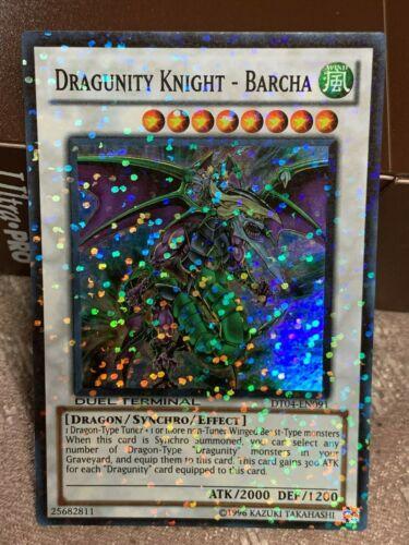 BARCHA DT04-EN091 Super Parallel Rare NEAR MINT yugioh DRAGUNITY KNIGHT