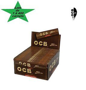 OCB-Slim-Unbleached-lots-de-1-a-400-carnets-de-feuilles-a-rouler-grande-taille