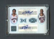 2006-07 Triple Threads Masterpiece 1/1 Quad AUTO Bird Johnson Bosh Carter
