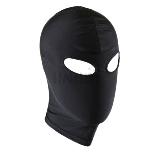 Blindfold Eye Mask Hood Headgear Adult Unisex Role Play Facemask Fancy Costumes