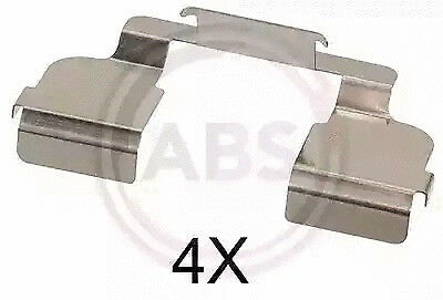 ABS 1707Q Disc Brake Pads Accessory Kit