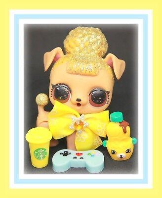 LOL Surprise Pets PUP BEE Dog Wave 2 RARE P-004 Glitterati Gold Ball