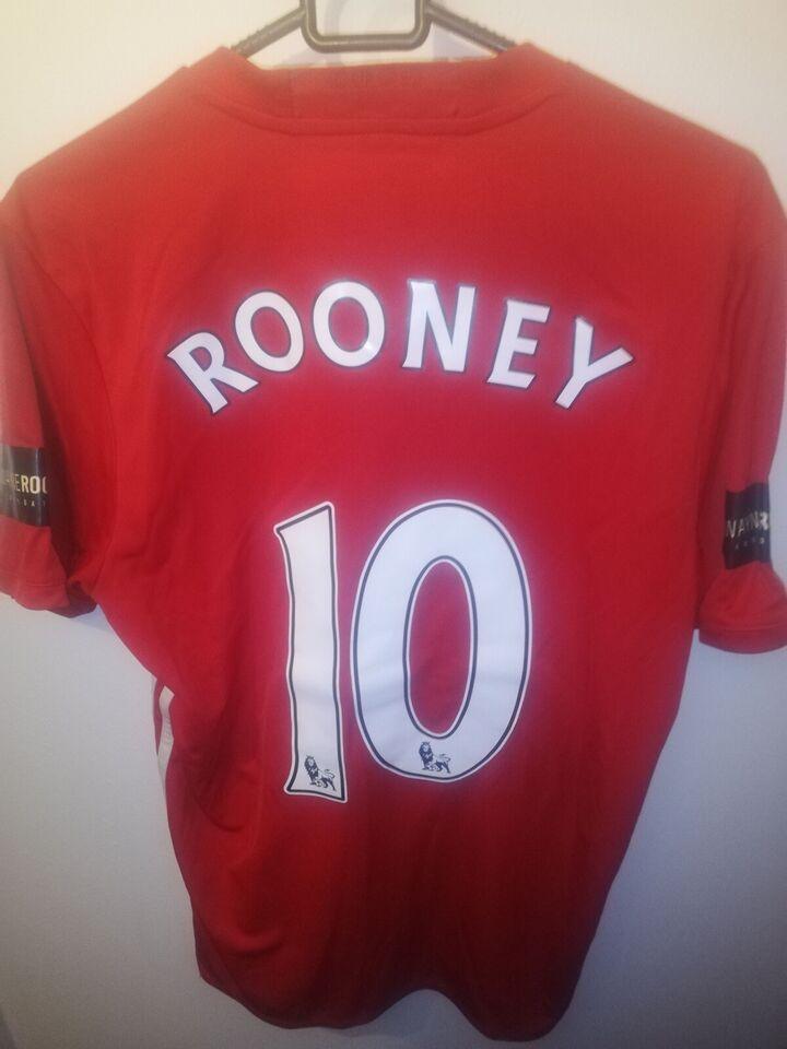 Fodboldtrøje, Wayne Rooney Manchester United trøje