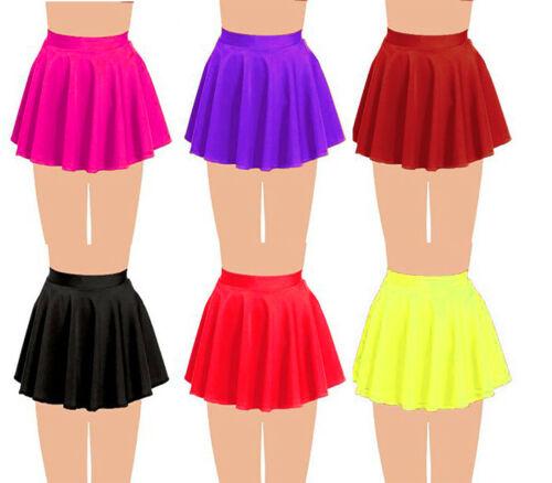 Girls Kids Circular Dance Skirt Ballet Skating Tap Jazz Gymnastics Skater Skirt