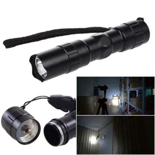 LED Flashlight Focus Super Bright Mini Waterproof AA Torching Lights Lamp EH