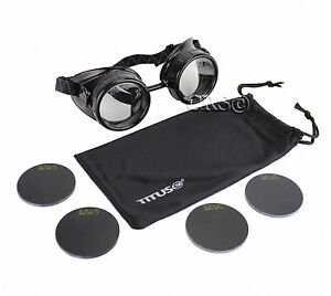 Welding Goggles Glasses Set ARC MIG TIG GAS Z87 Impact Rated CE EN175 Certified  788536627914