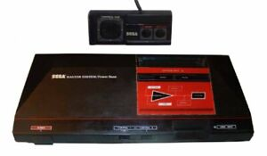 MASTER SYSTEM I CONSOLE + 1 CONTROLLER (Master System Game) 1 Sega A