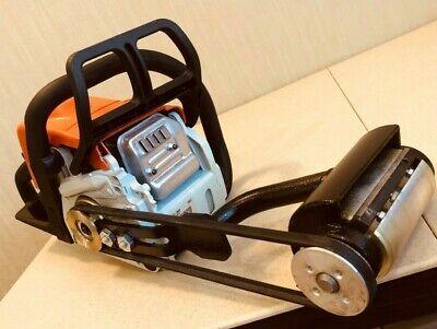 Debarker Entrindungsgerät Schälgerät Entrinder via Flex alle Makita Bosch 200mm