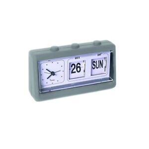 Sveglia orologio da tavolo con calendario calendar clock pusher ebay - Calendari da tavolo con foto ...