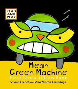Mean-Green-Machine-Jigsaw-Book-Read-amp-Play-Excellent-Books