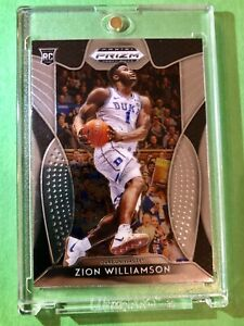 Zion-Williamson-2019-20-PANINI-PRIZM-HOT-ROOKIE-CARD-DRAFT-PICKS-RC-1-Mint