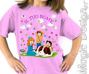 Cartoon Heidi 897 T-Shirt Maglietta Manga