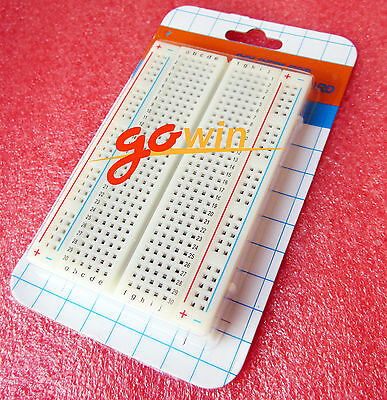 Mini Breadboard 400 Universal Solderless Contacts Tie-points Available