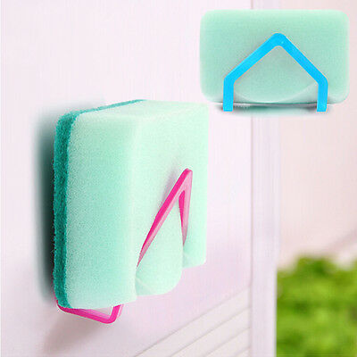 Sponge Holder Convenient Suction Cup Kitchen Tools Gadget Decor HOT