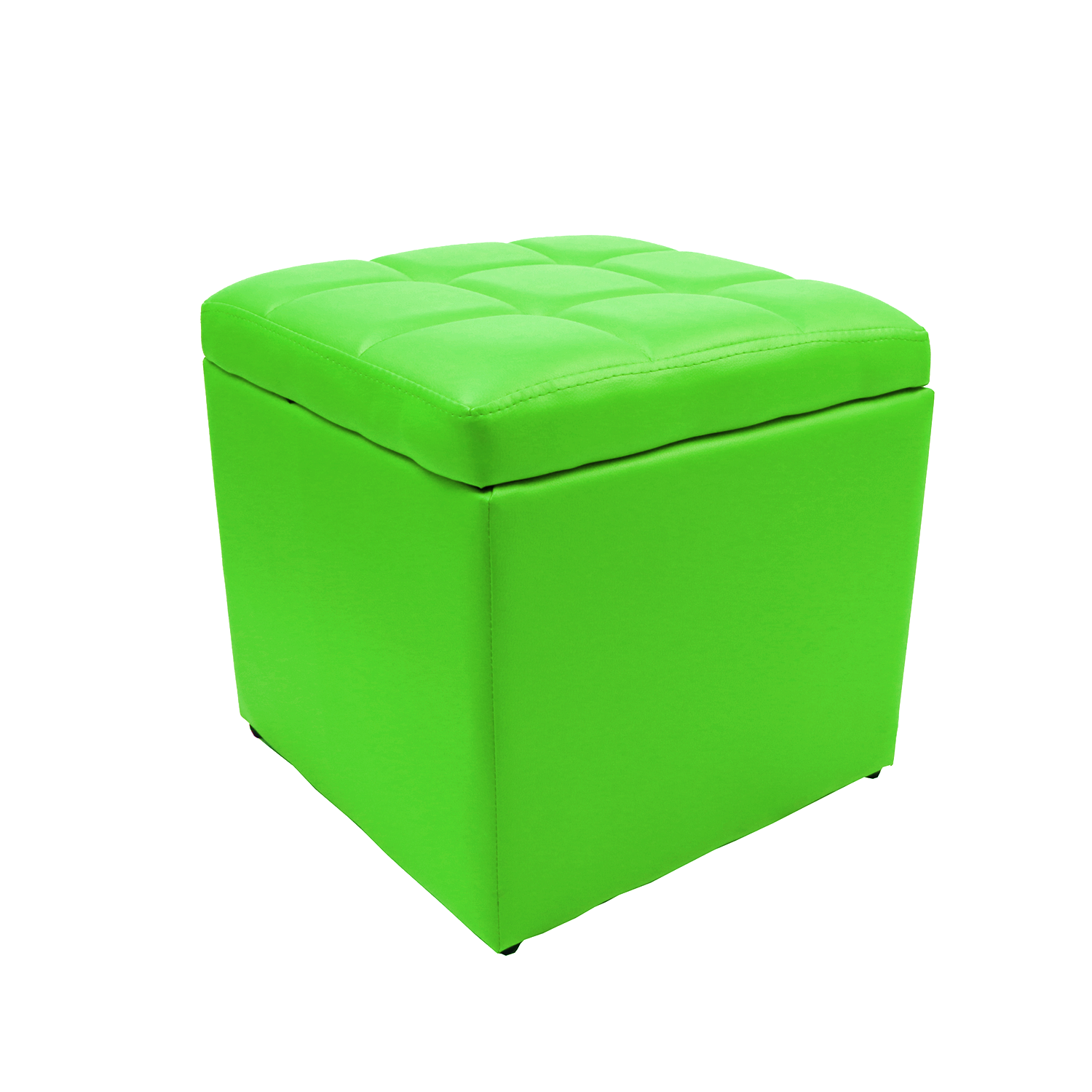 Phenomenal Details About 16X16X16 Unfold Ottoman Cube Coffee Table Bench Footrest Lift Top Lime Green Machost Co Dining Chair Design Ideas Machostcouk