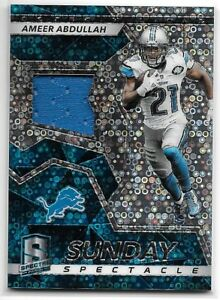 AMEER ABDULLAH Jersey  51 99 2017 Spectra Sunday Spectacle Detroit ... 4903bbf47