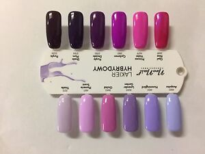 neonail hybrid manicure gel nails polish violet purple