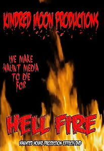 image is loading hell fire halloween projection effects dvd halloween props