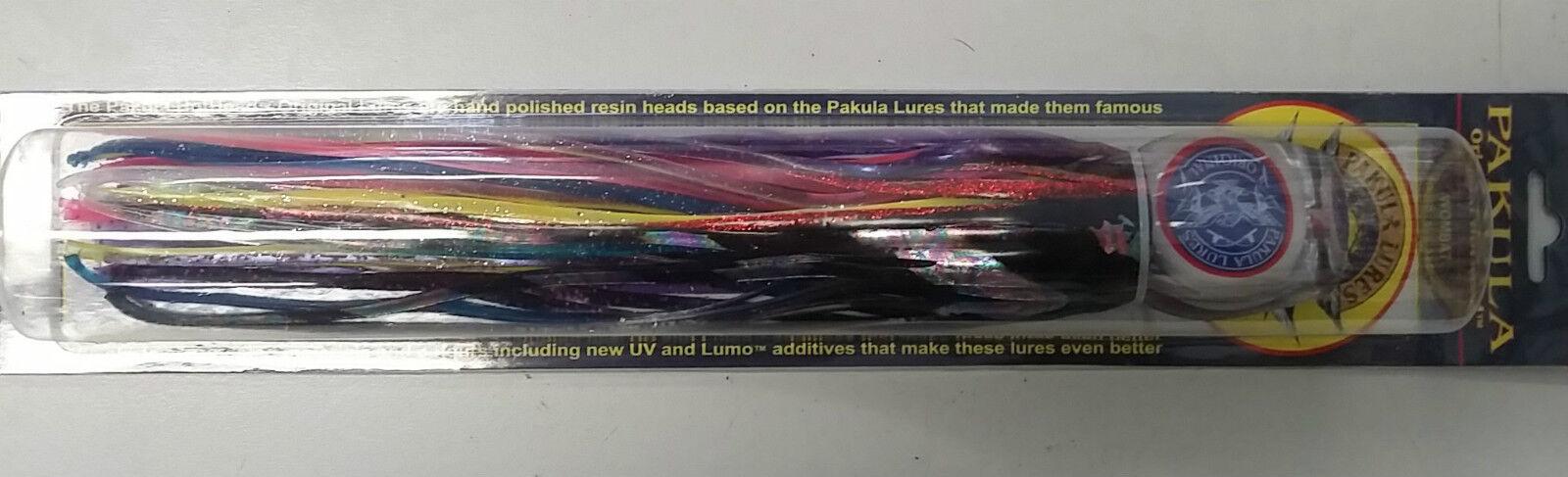 Brand new Pakula Game fishing Frigate Wombat Skirt lure original hothead