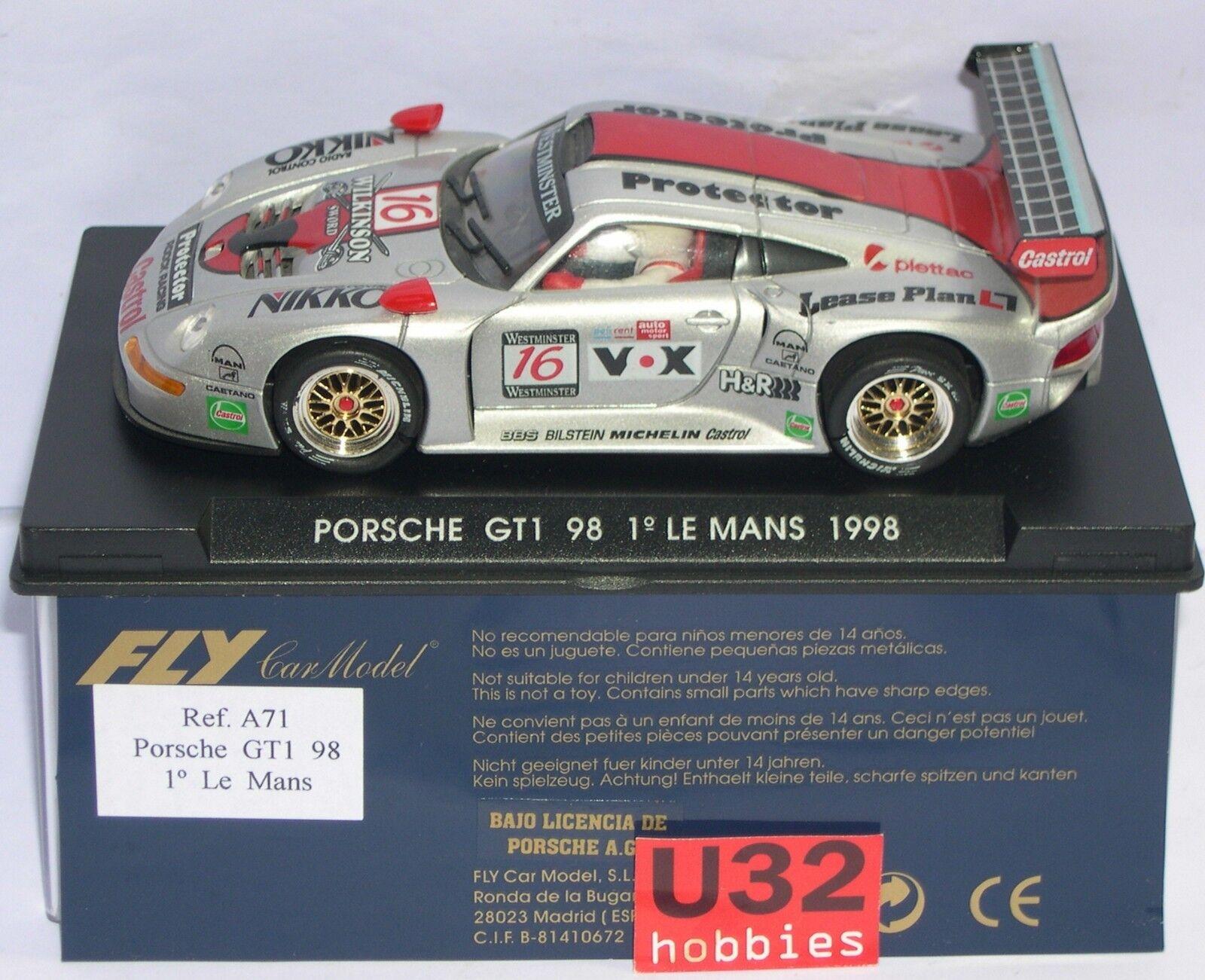 FLY A71 PORSCHE 911 GT1 98  16 1º LE MANS 1998 WILKINSON