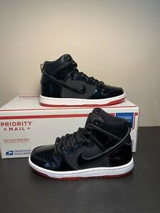 Nike-SB-Zoom-Dunk-High-TR-QS-Rivals-Pack-BRED-AJ7730-001-Men-s-Size-4-5