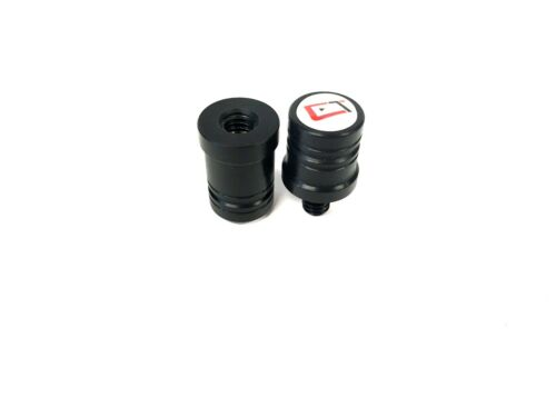 New 2019 Black Cuetec Joint Protectors With Logo 3//8x14 Thread