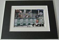 David Coulthard Signed Autograph 10x8 photo display Formula 1 Motor Racing & COA