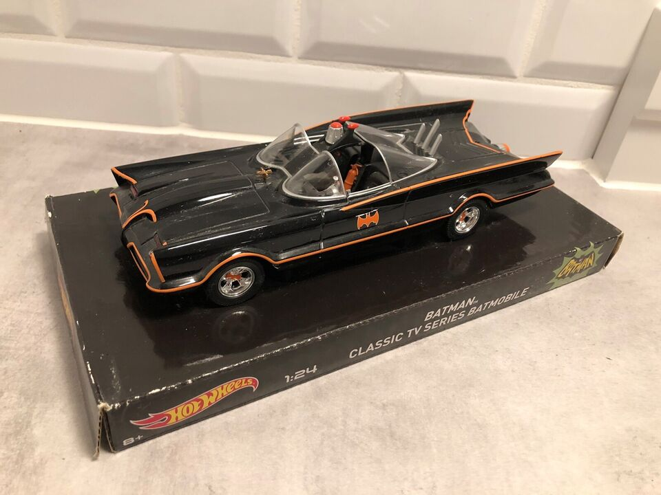 Modelbil, Hot Wheels Batmobil